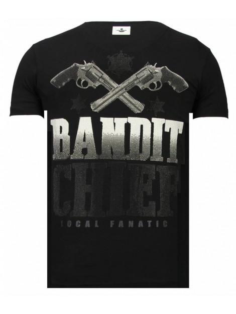 Local Fanatic Bandit chief rhinestone t-shirt 13-6217Z large
