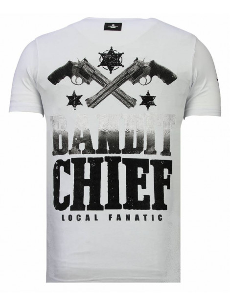 Local Fanatic Bandit chief rhinestone t-shirt 13-6217W large