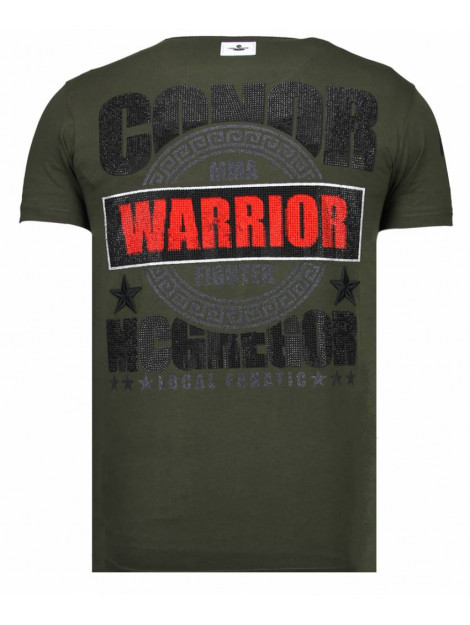 Local Fanatic Notorious warrior mcgregor rhinestone t-shirt 13-6216K large