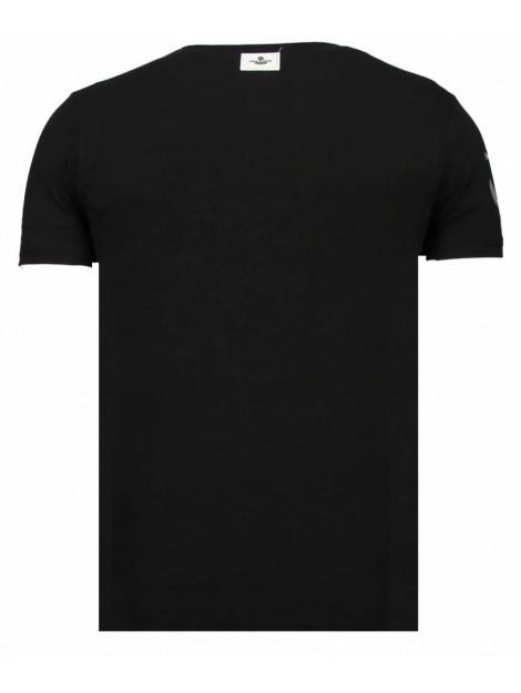 Local Fanatic Iron man popeye rhinestone t-shirt 13-6214Z large