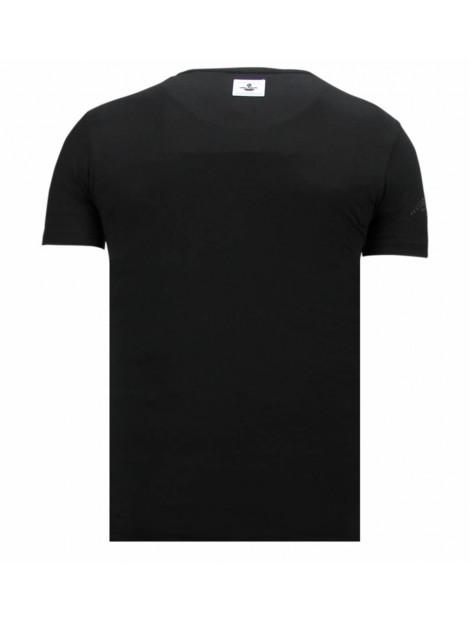 Local Fanatic Badman rhinestone t-shirt 13-6213Z large
