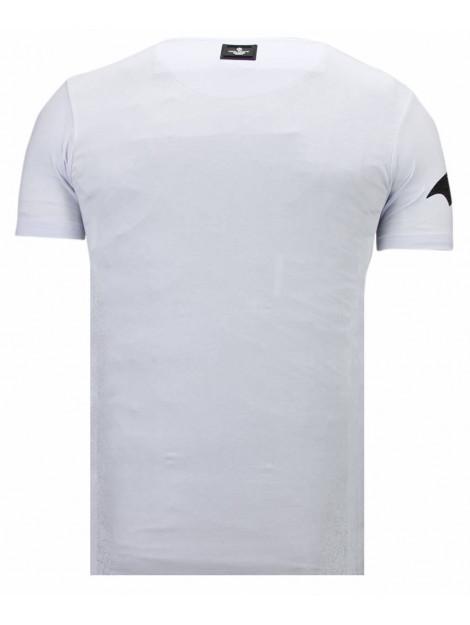 Local Fanatic Badman rhinestone t-shirt 13-6213W large