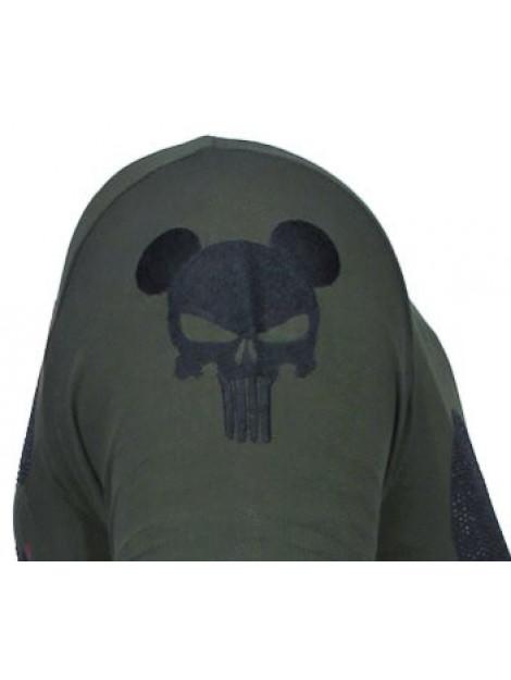Local Fanatic Punisher mickey rhinestone t-shirt 13-6208K large