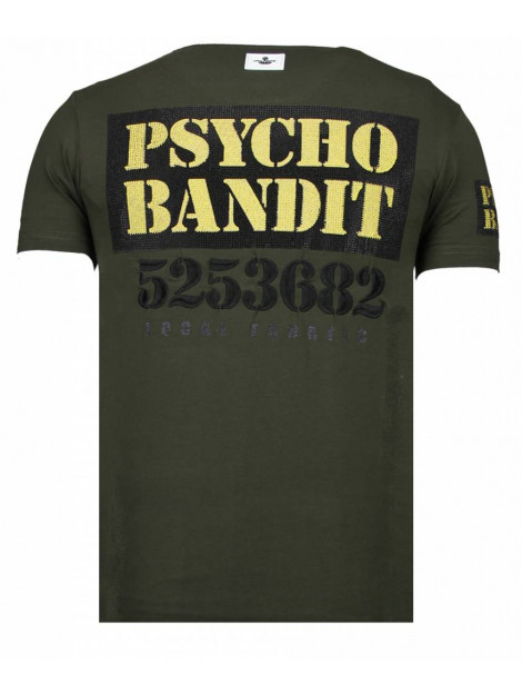 Local Fanatic Bad dog rhinestone t-shirt 13-6207K large