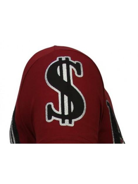 Local Fanatic Billionaire boss rhinestone t-shirt 13-6205B large