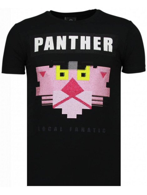 Local Fanatic Panther for a cougar rhinestone t-shirt 5780Z large