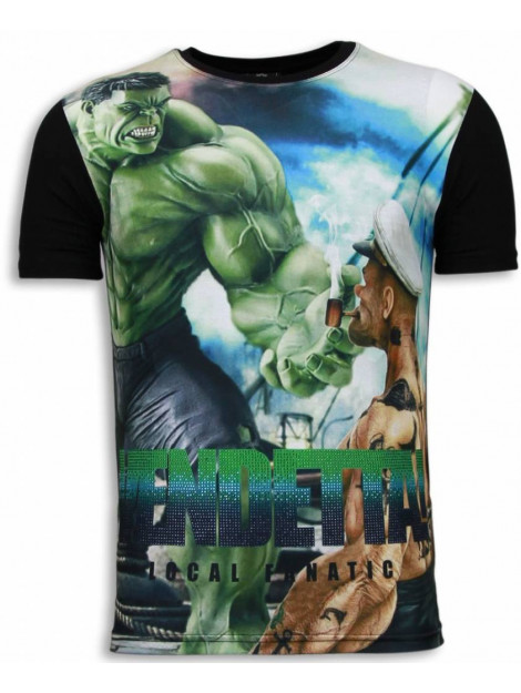 Local Fanatic Vendetta digital rhinestone t-shirt 5966 large