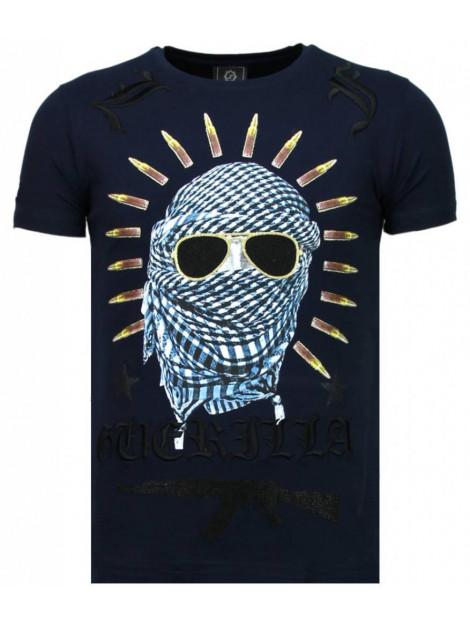 Local Fanatic Freedom fighter rhinestone t-shirt 5765Z large