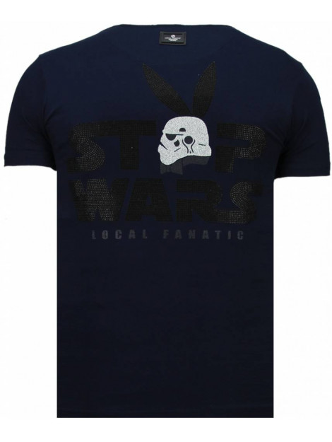 Local Fanatic Stormbitch rhinestone t-shirt 5770N large