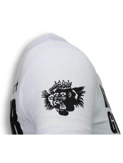 Local Fanatic Conor mcgregor rhinestone t-shirt 5775W large