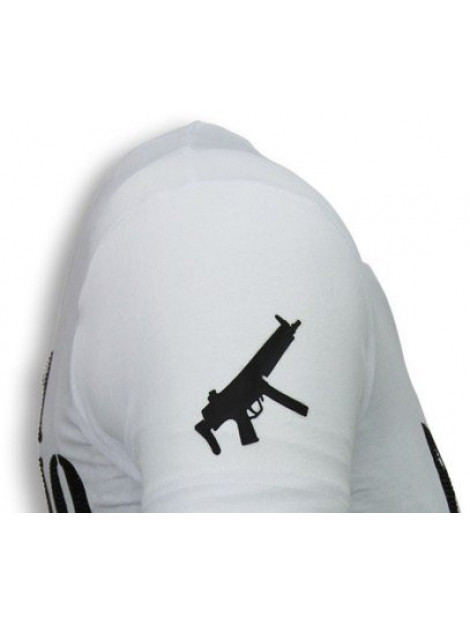 Local Fanatic Pablo escobar narcos rhinestone t-shirt 5782W large