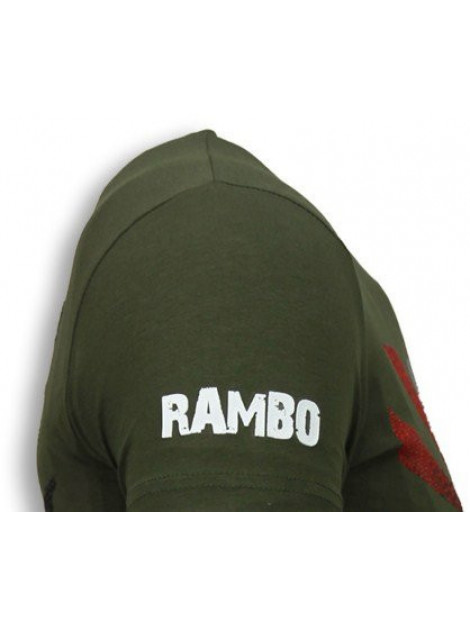 Local Fanatic Rambo shine rhinestone t-shirt 5769G large