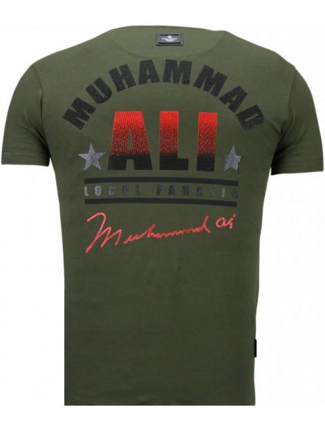 Local Fanatic Muhammad ali rhinestone t-shirt 5762G large