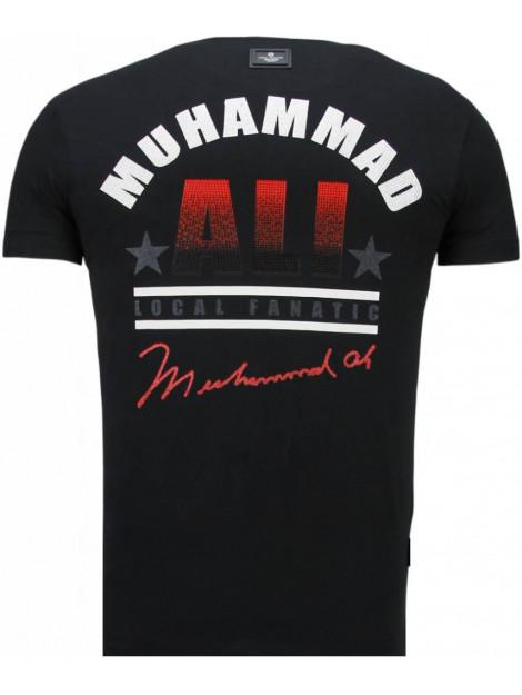 Local Fanatic Muhammad ali rhinestone t-shirt 5762Z large