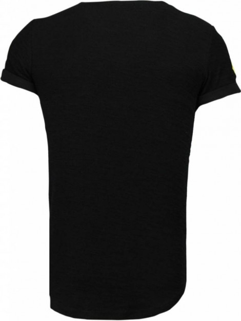 Justing Military patches t-shirt T09150Z large
