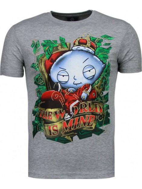 Local Fanatic Rich stewie t-shirt 2005G large