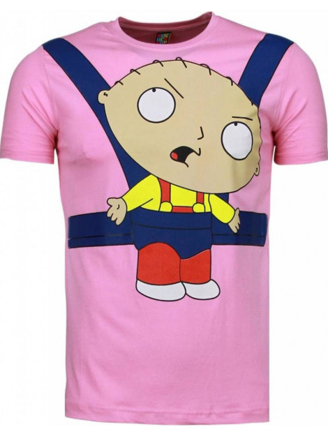 Local Fanatic Baby stewie t-shirt 1138R large