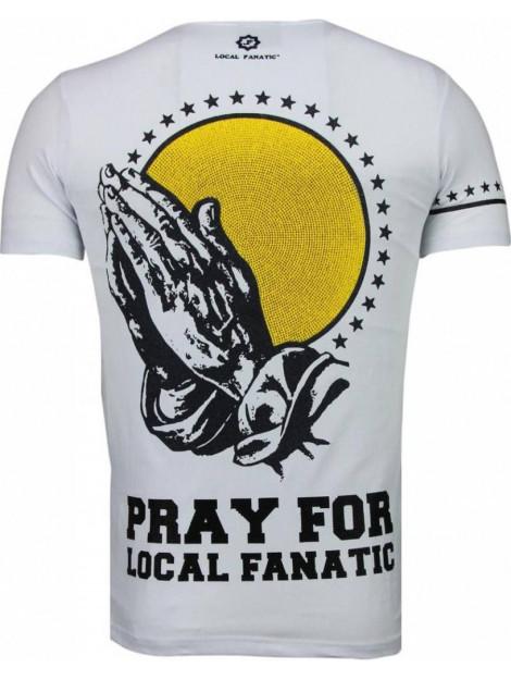 Local Fanatic Jezus rhinestone t-shirt 5094W large