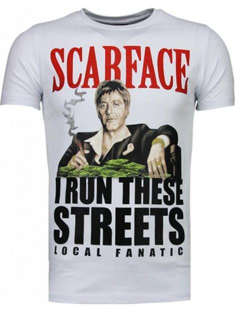 Local Fanatic Scarface boss rhinestone t-shirt 5093W large