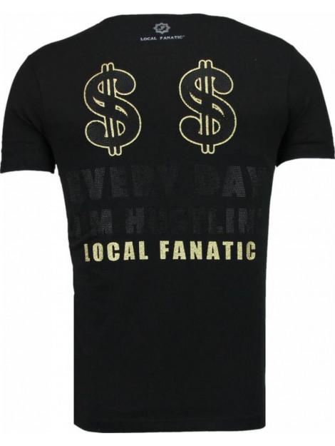 Local Fanatic Hustler rhinestone t-shirt 5087Z large