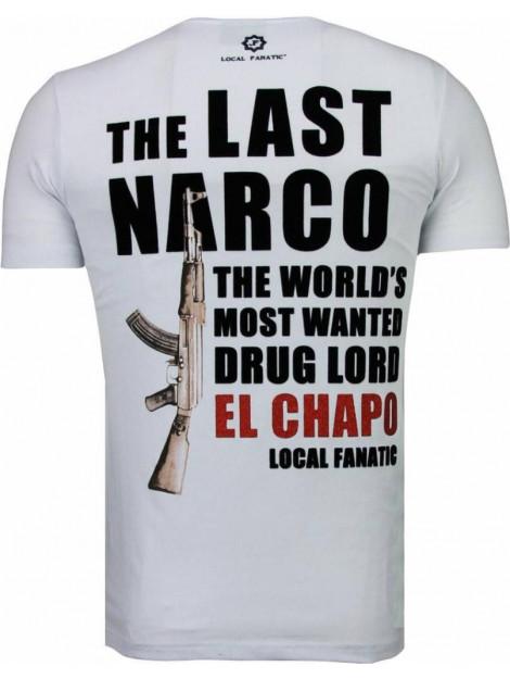 Local Fanatic El chapo flockprint t-shirt 5084W large
