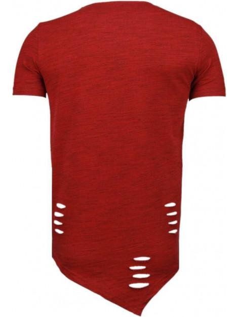 Tony Backer Sleeve ripped t-shirt TB-1004R large
