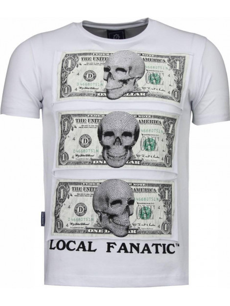 Local Fanatic Beter have my money rhinestone t-shirt 4773W large