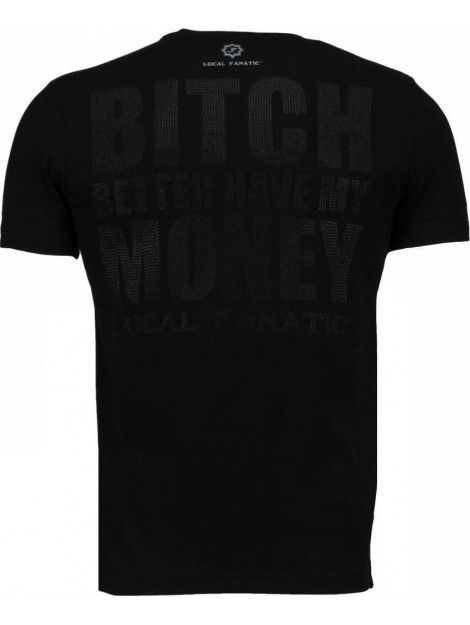 Local Fanatic Beter have my money rhinestone t-shirt 4773Z large