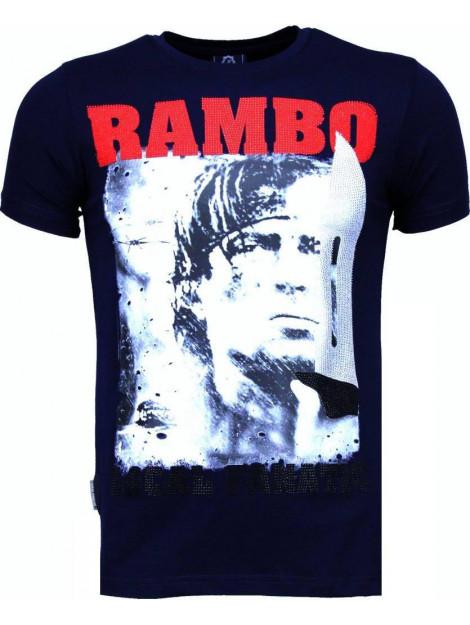 Local Fanatic Rambo rhinestone t-shirt 4776NB large