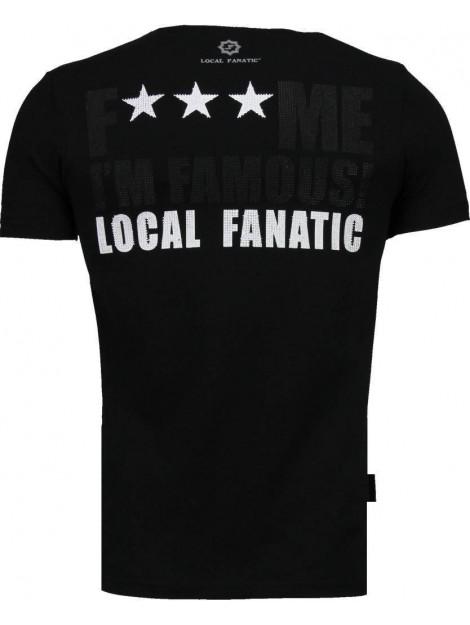 Local Fanatic Kim kardashian rhinestone t-shirt 4779Z large