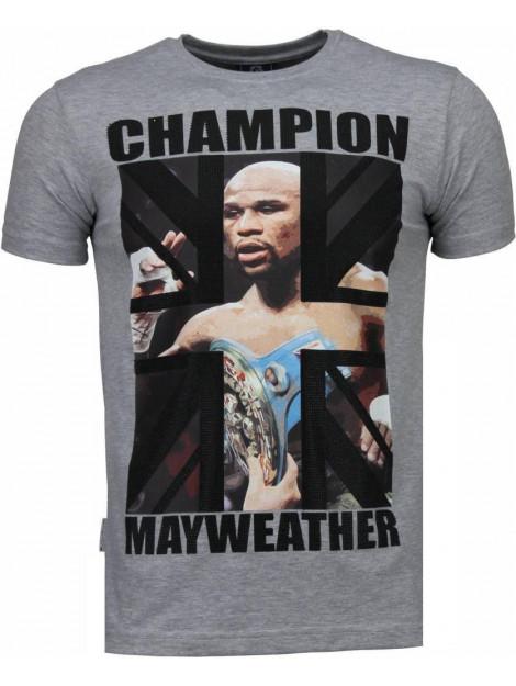 Local Fanatic Mayweather rhinestone t-shirt 4780G large