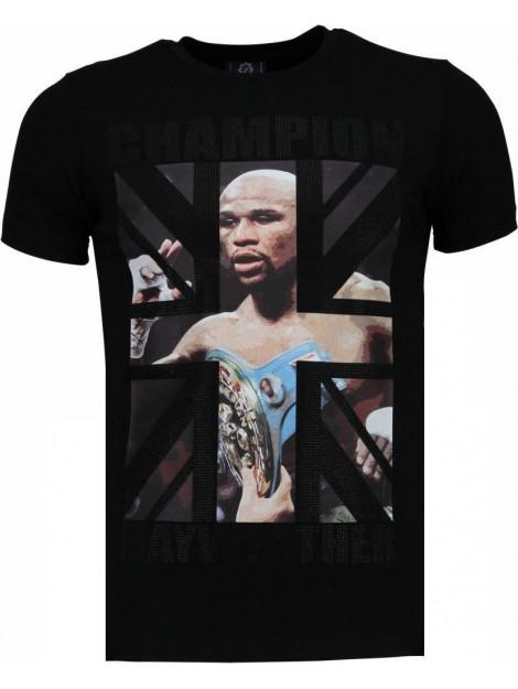 Local Fanatic Mayweather rhinestone t-shirt 4780Z large