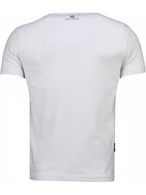 Local Fanatic Golden boy vs iron mike t-shirt 2011W large