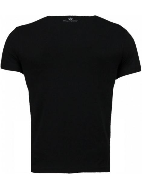 Local Fanatic Golden boy vs iron mike t-shirt 2011Z large