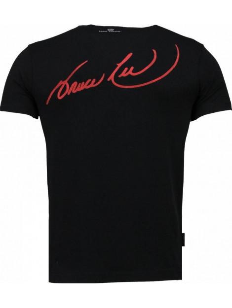 Local Fanatic Bruce lee ying yang t-shirt 2315Z large