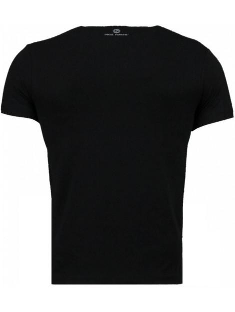 Local Fanatic Superhero returns t-shirt 2314Z large