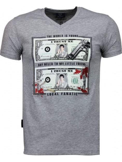 Local Fanatic Scarface dollar t-shirt 2313G large