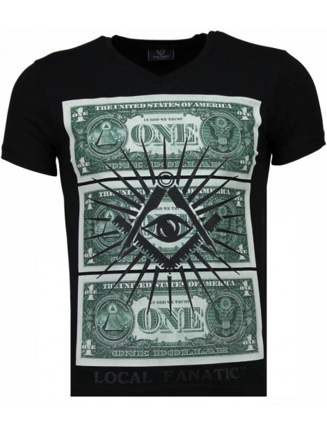 Local Fanatic One dollar eye t-shirt 4302Z large