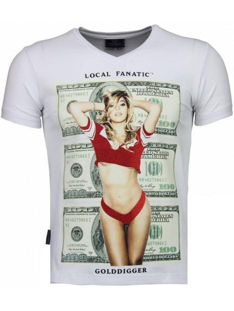 Local Fanatic Golddigger dollar t-shirt 4297W large