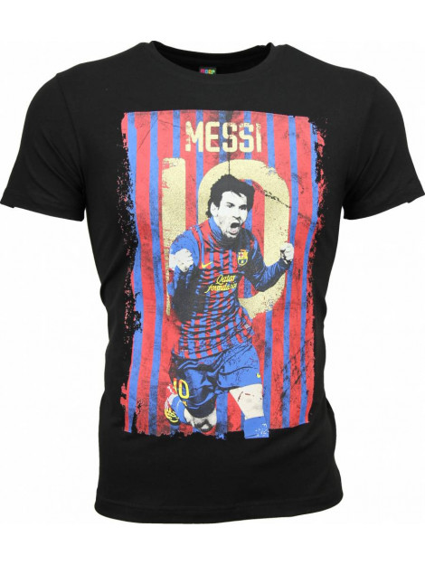 Local Fanatic T-shirt messi 10 print 1170Z large