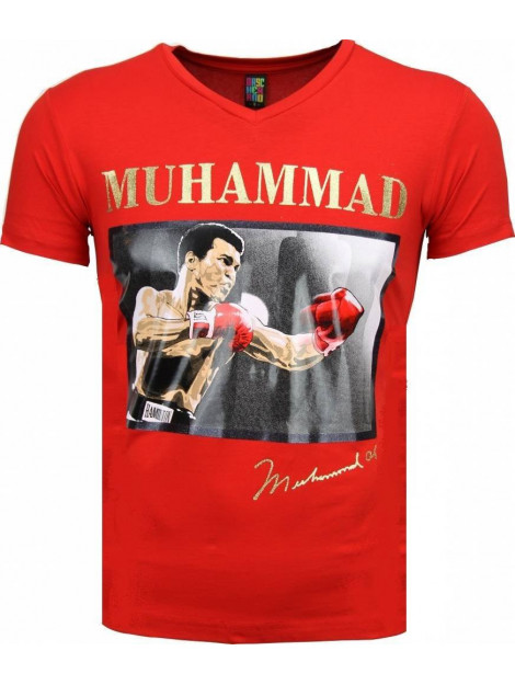 Local Fanatic T-shirt muhammad ali glossy print 2306R large