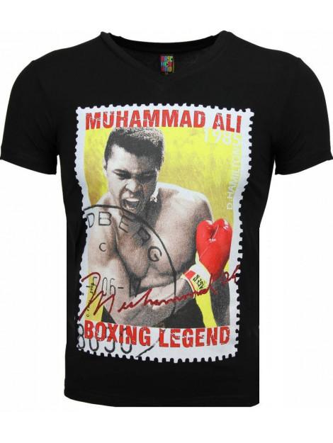 Local Fanatic T-shirt muhammad ali zegel print 2310Z large