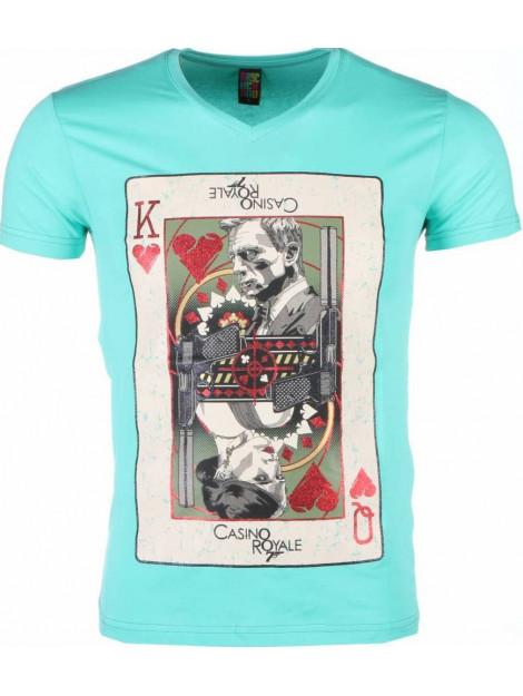 Local Fanatic T-shirt james bond casino royale 1416G large