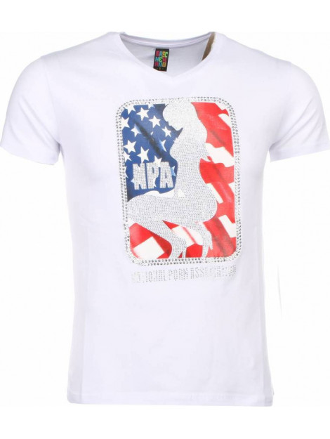 Local Fanatic T-shirt npa print 1414W large