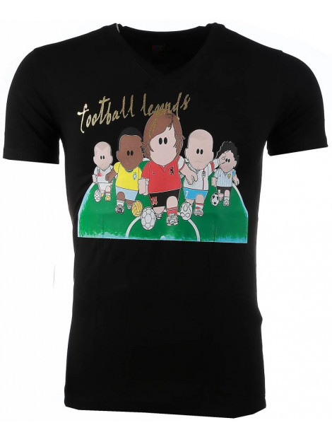 Local Fanatic T-shirt football legends print 54007Z large