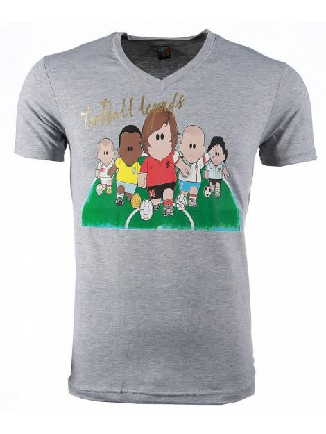 Local Fanatic T-shirt football legends print 54007G large