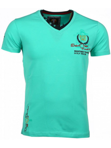 David Copper E t-shirts korte mouwen 54092G large