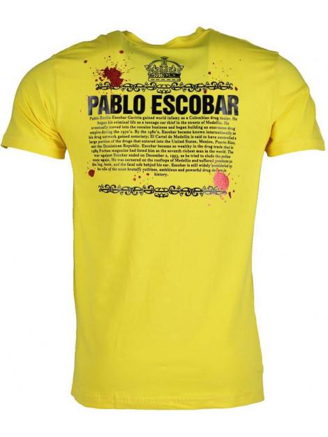 Local Fanatic T-shirt pablo escobar crime boss 1333GE large