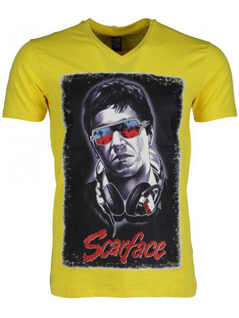 Local Fanatic T-shirt scarface 2307GE large