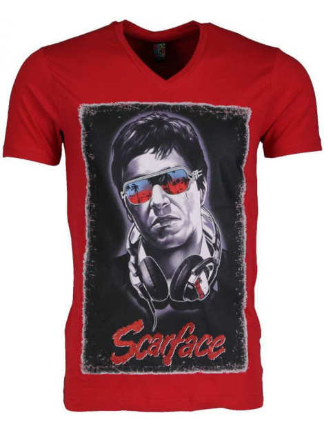 Local Fanatic T-shirt scarface 2307R large